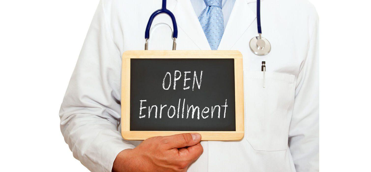 What does open enrollment for Medicare mean?
