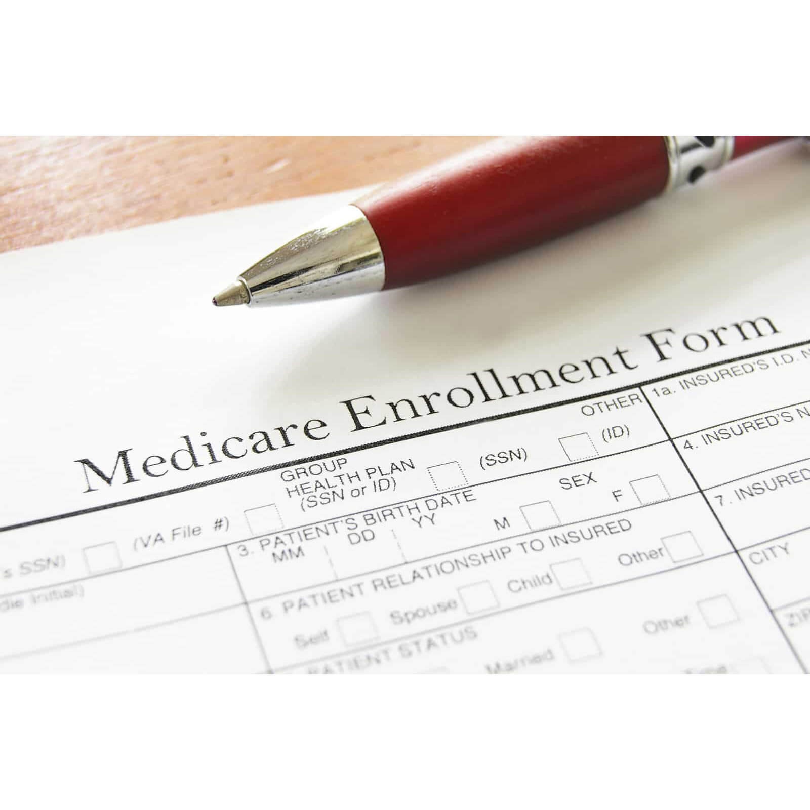Supplement Plans - Medicare Enrollment Form